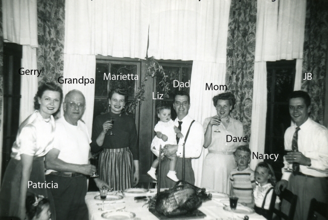 1952 Thanksgiving in SF