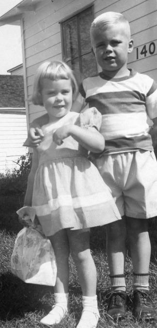 Nancy and Dave in Richmond (circa 1951)